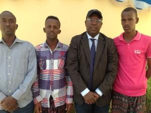 Somalia Journalists 08-09-2013