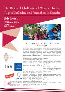 Somalia event