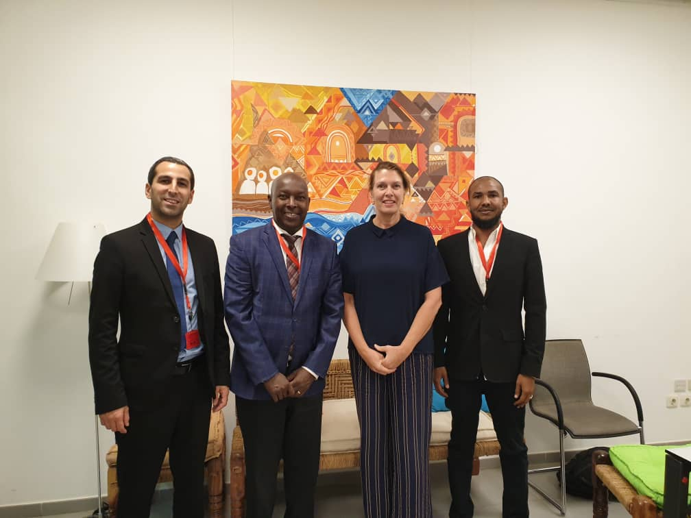 DefendDefenders met with the H.E. Dr. Karin Maria Boven, Netherlands Ambassador to Sudan, discussing ways to ensure the promotion and protection of human rights defenders (HRDs).