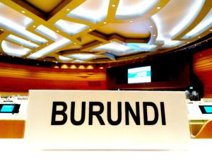 burundi name plate